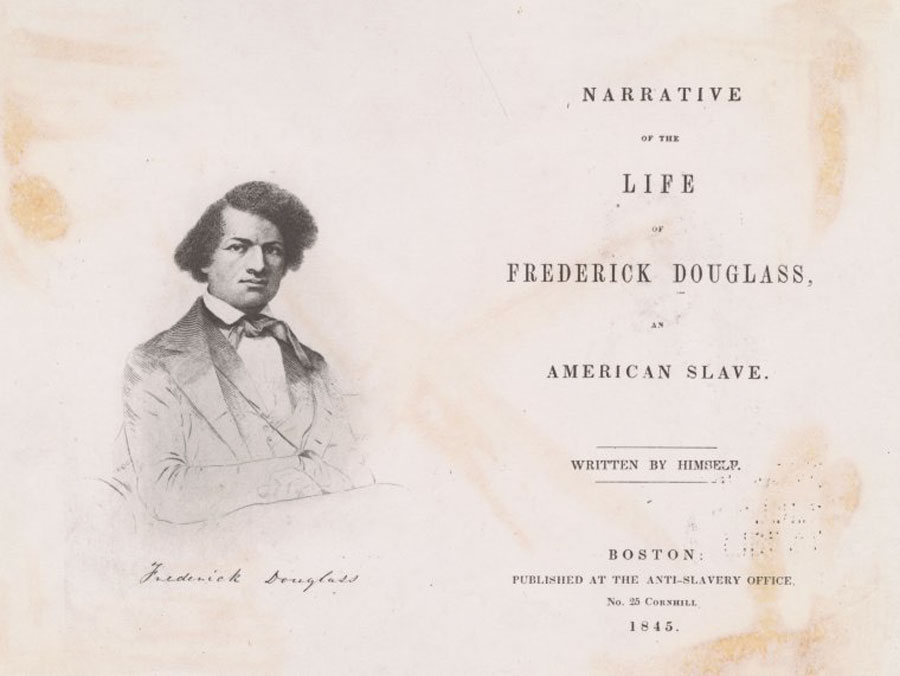 an essay on frederick douglass In his masterful work titled narrative of the life of frederick douglass, an american slave, frederick unveils a touching story by initially speculating his own.