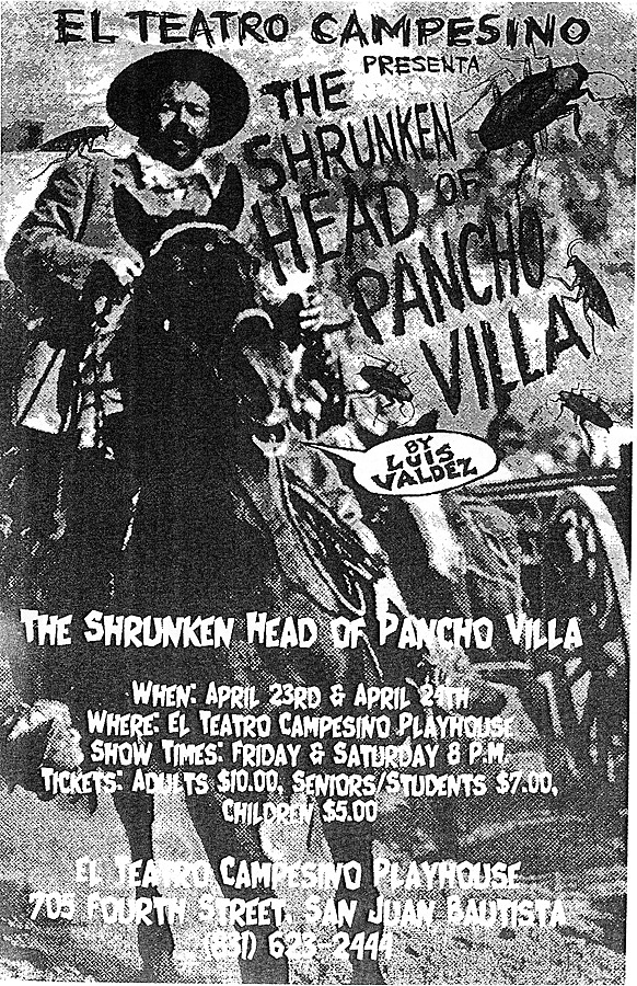 a review of three actos the shrunken head of pancho villa los verndidos and la victima Bet a short story by anton chekhov a review of three actos the shrunken head of pancho villa los verndidos and la victima the correlation between culture and.